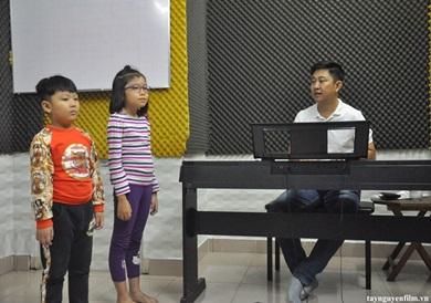 học thanh nhạc cho trẻ em